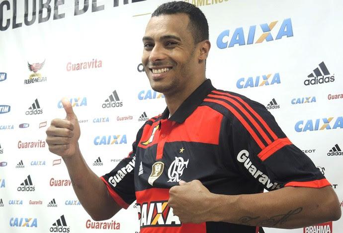Elton, apresentação Flamengo (Foto: Cahê Mota)