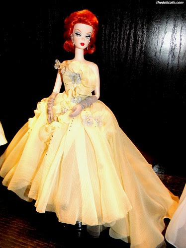 Silkstone in Yellow Dress by The Doll Cafe