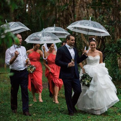 How to embrace a wet weather wedding   Easy Weddings