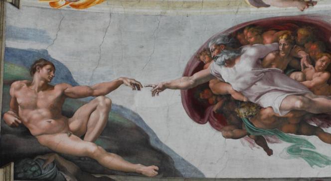 Fresk Michała Anioła z Kaplicy Sykstyńskiej