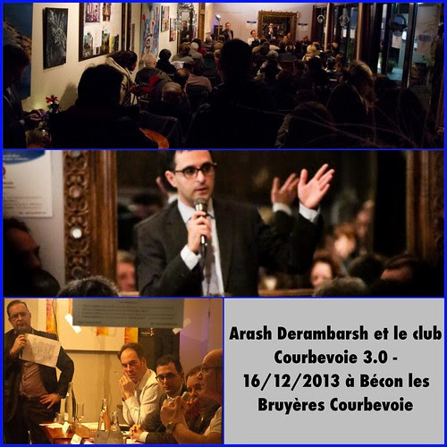"Arash Derambarsh et le club ""Courbevoie 3.0"" à Bécon les Bruyères by Arash Derambarsh"