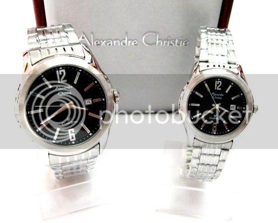 Jam Tangan Couple Alexandre Christie Keren