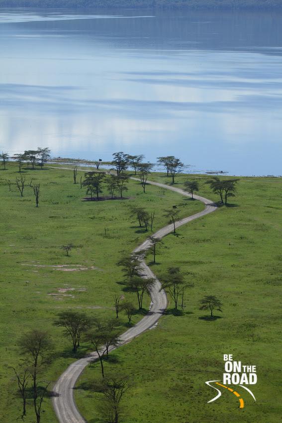 The beautiful Lake Nakuru roads