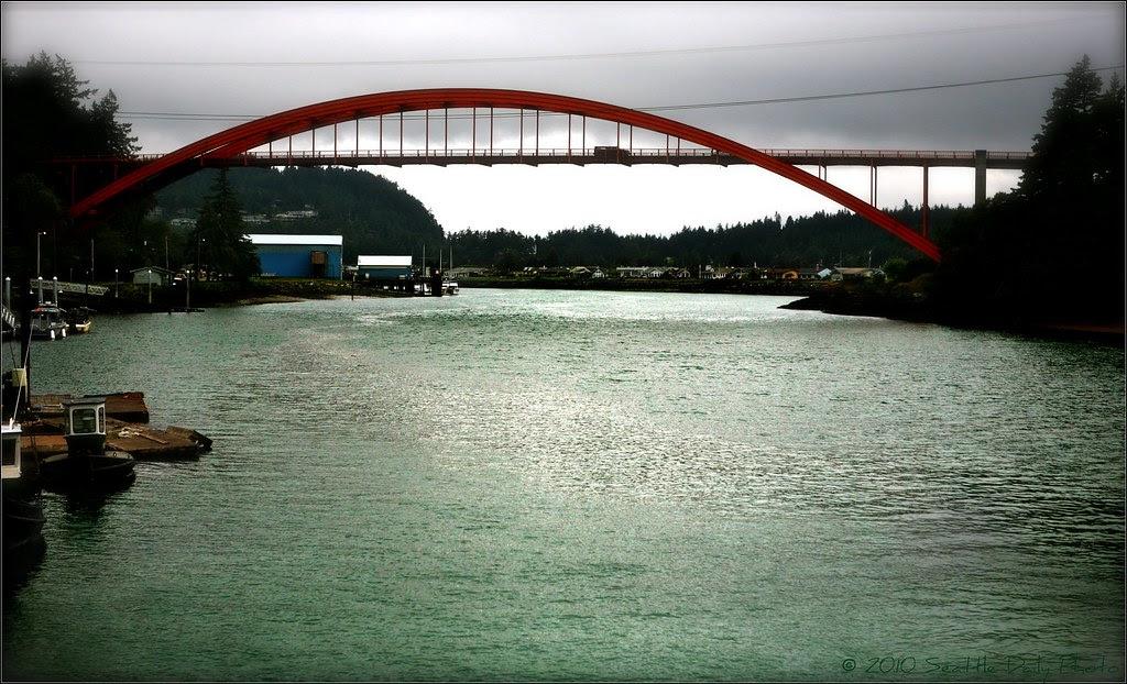 Rainbow Bridge Rainy Day