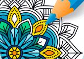 Mandala Coloring Book For Adults Apk