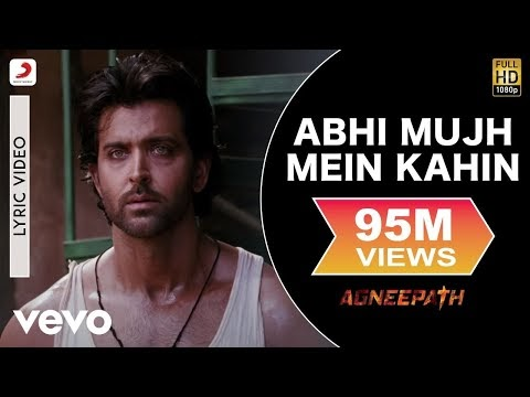 ►【𝙇𝙔𝙍𝙄𝘾𝙎】 Abhi Mujh Mein Kahin In English - From Agneepath