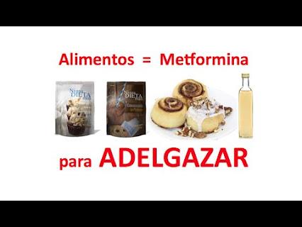 Dieta Para Adelgazar Tomando Metformina