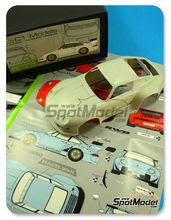 Transkit 1/24 C1 Models - Porsche 993 RWB Widebody Rauh-Welt  - resinas , fotograbados , calcas - para usar con kit de Tamiya TAM24247, TAM24175, TAM24181