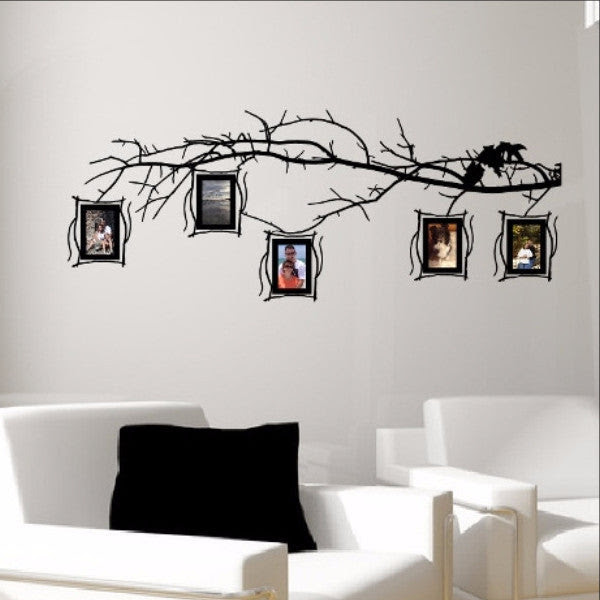 Tree Branch Photo Frames Decal Set Family Tree Decal 22549