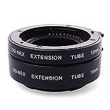 XCSOURCE Sony E-Mount NEX-3 NEX-6 NEX-5R NEX-7 A7S A7R A7用 マクロエクステンションチューブ LF434