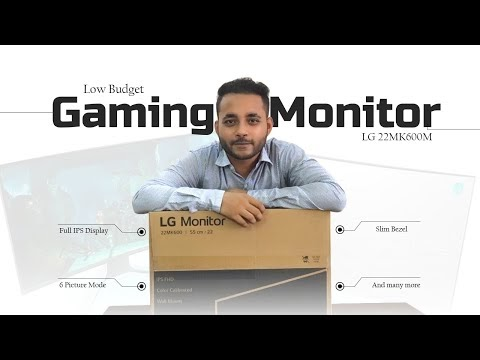 LG 22MK600M FHD IPS Display & AMD FreeSync Monitor - Best Gaming Budget Monitor