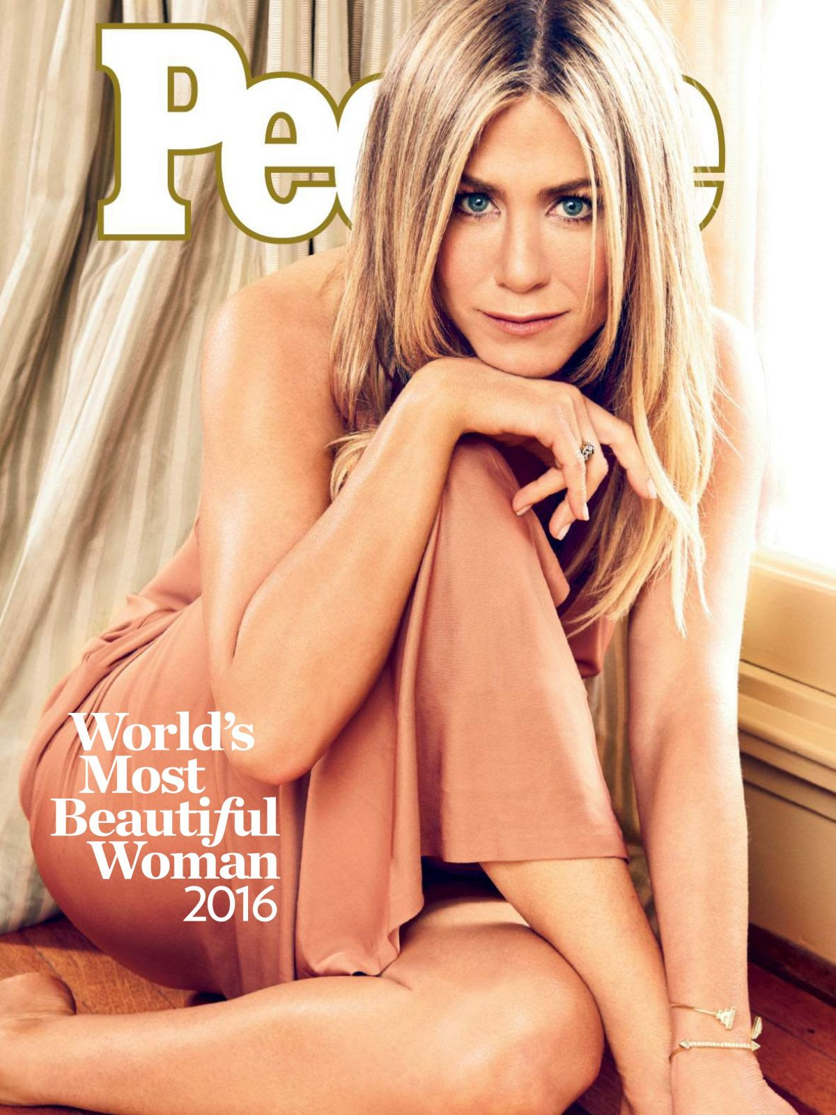 JENNIFER ANISTON i People Magazine, May 2016 Issue
