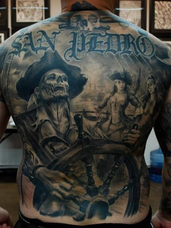 75 Amazing Masterful Pirate Tattoos Designs Meanings 2019