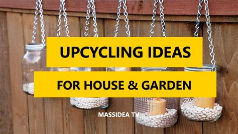 awesome upcycling ideas  house garden  youtube