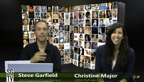 Steve Garfield and Christine Major on SteveGarfield.tv
