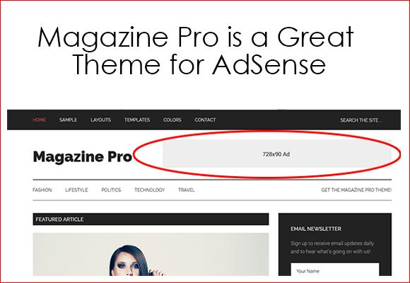 Majalah pro untuk wordpress