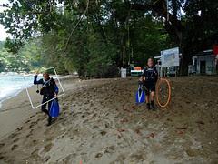 Preparation for rescue training
