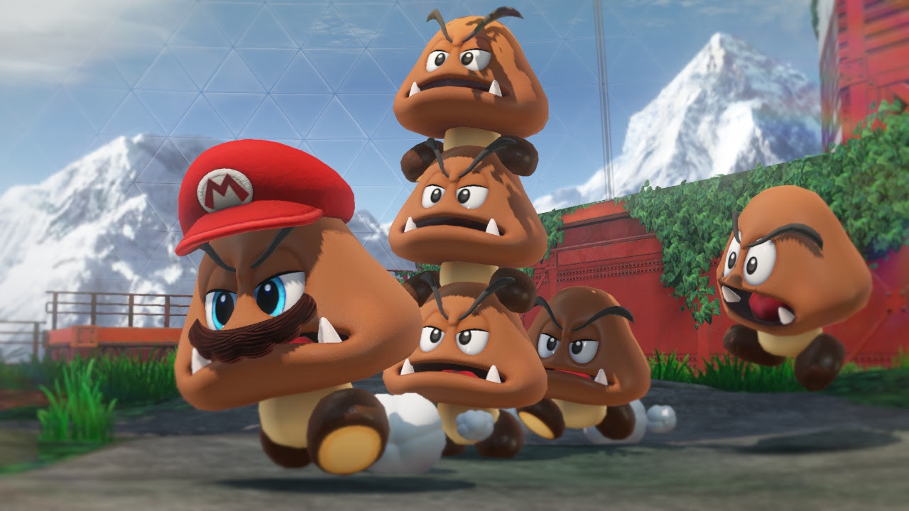 Nintendo insists that there's no possession of any kind in Super Mario Odyssey screenshot