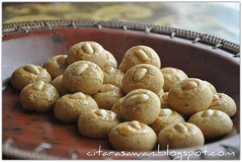 resepi biskut mentega kacang  banu story
