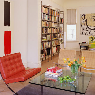 Lime Green Bookshelves Design Ideas, Pictures, Remodel, and Decor