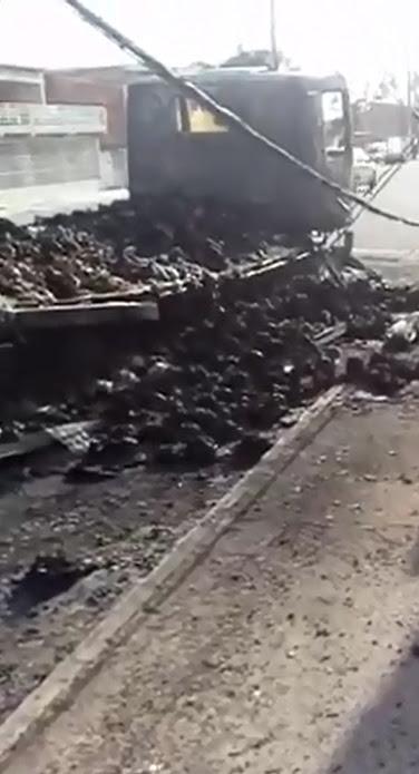A ação aconteceu em Caucaia (FOTO: Reprodução/TV Jangadeiro)