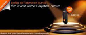 حصريّا : أورنج تونس تطرح مفتاح الانترنات E3131 انطلاقا من 0 دينار