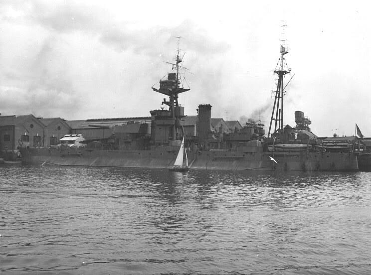 H.M.S. Roberts 1940