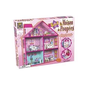 pas cher creative toys ct 5652 loisir cr atif ma maison de poup e acheter en ligne. Black Bedroom Furniture Sets. Home Design Ideas