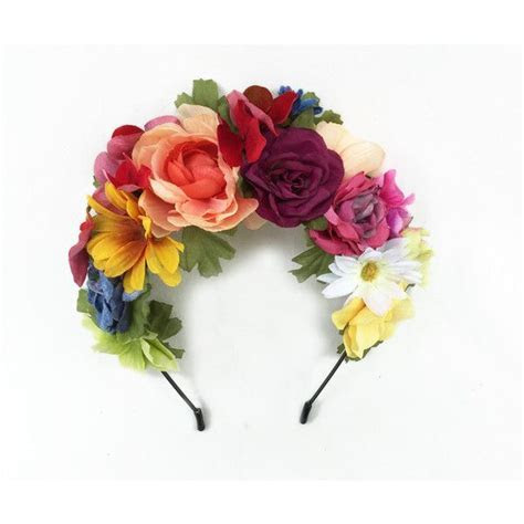 Day of the Dead Flower Crown, Frida Flower Crown