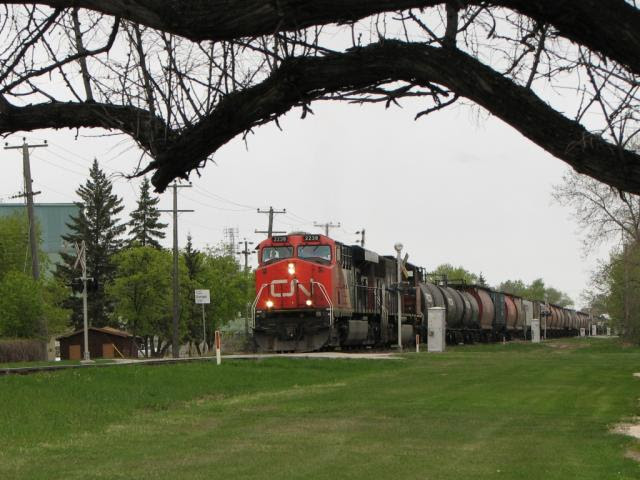 CN 2238 in Winnipeg Manitoba