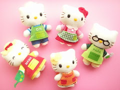 Kawaii Hello Kitty Mascot Plush Puppet Novelty Rare Cute Japan