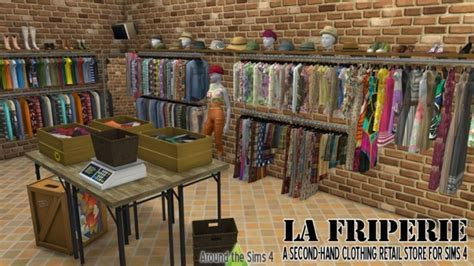 La Friperie second hand clothing retail store at Around