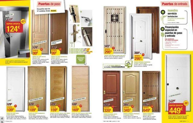C mo decorar la casa puertas de madera leroy merlin - Puertas de aluminio leroy merlin ...