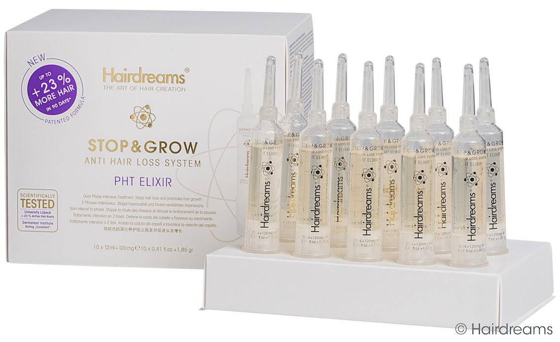 Hairdreams Stopgrow Stop And Grow Pht Kopfhaut Elixir Salon120ml