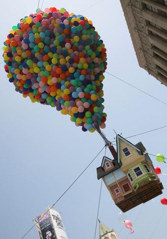 disney pixar up house. of Disney Pixar#39;s quot;Upquot; at