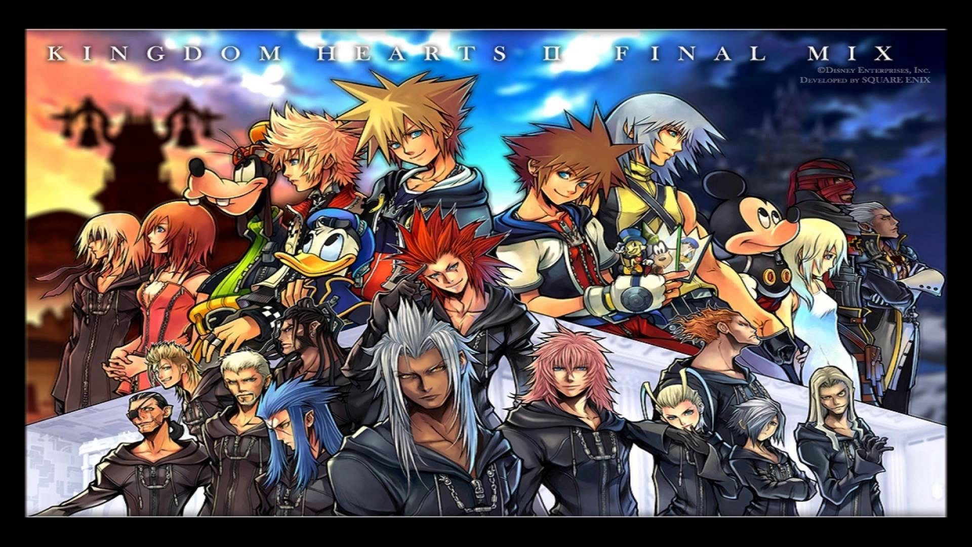 Kingdom Hearts 2 Final Mix Wallpaper 72 Images