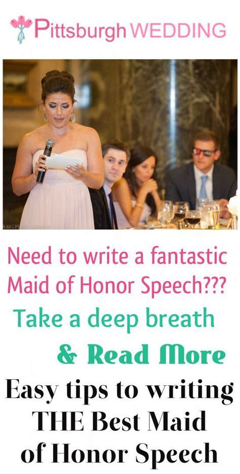 45 best Maid of honor speech images on Pinterest   Maid of