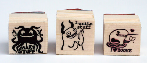 Awesome rubber stamps