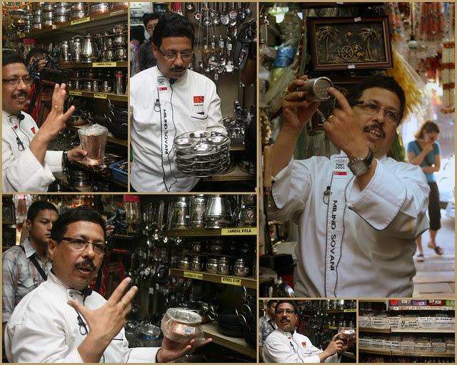 Chef Sovani elaborates on various kitchenware used in Indian cooking