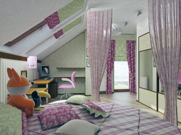 Kids room design solutions - Purple is the new pink