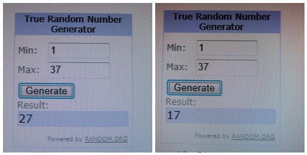100 followers random number winners