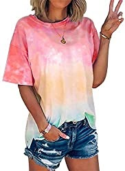 35% OFF Coupon Code For Women Rainbow T-Shirt
