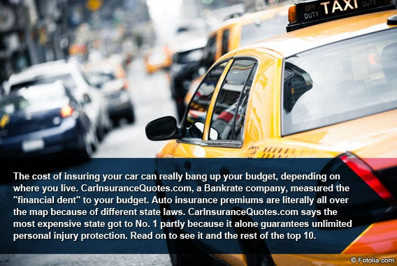 10 Most Expensive States For Auto Insurance | Bankrate.com