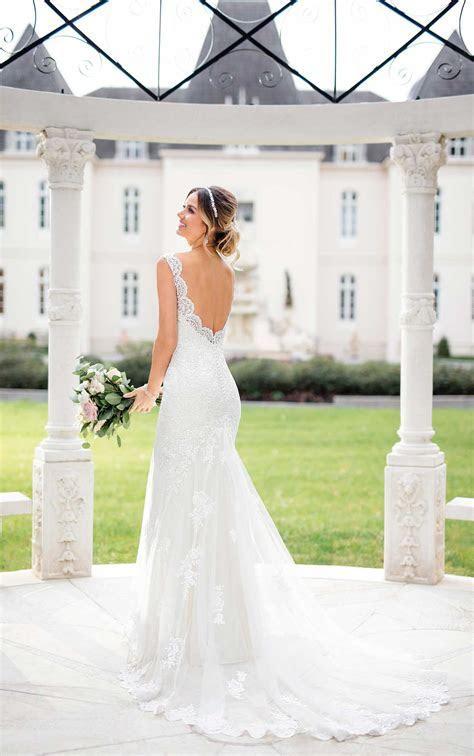 Classic Fit and Flare Wedding Dress   Stella York Wedding