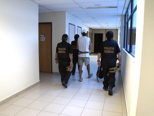 Presos foram transferidos para Mossoró nesta quinta-feira (16). (Foto: Divulgação/PF)