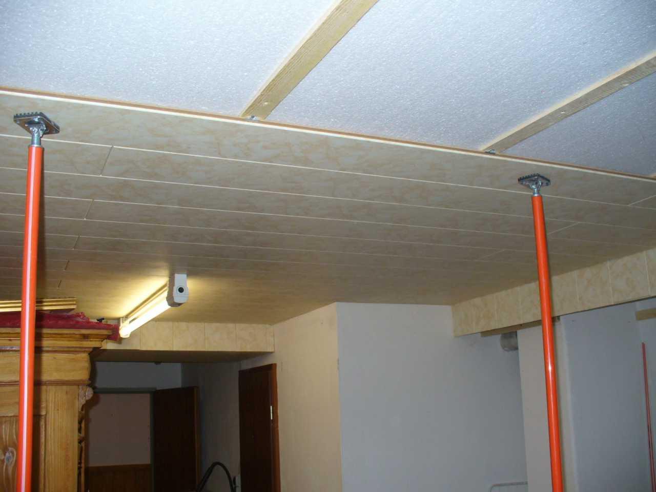 Styropor Paneele Decke Zuhause