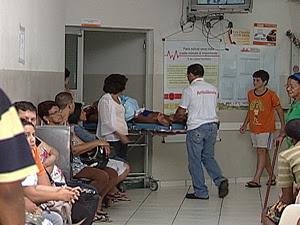Uberaba decreta estado de emergência por falta de médicos (Foto: Reprodução/TV Integração)