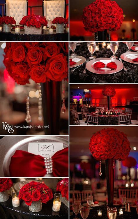 1000  ideas about Red Wedding Centerpieces on Pinterest