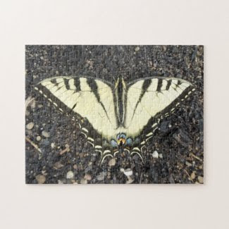 Yellow Butterfly Puzzles
