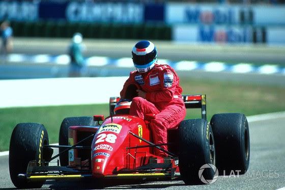 GP da Alemanha de 1995: o austríaco Gerhard Berger e o finlandês Mika Häkkinen